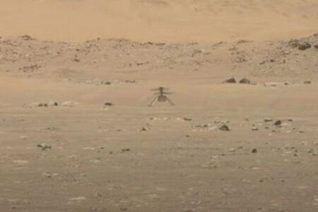 火星で飛んだヘリコプター、その音をNASAが初公開
