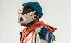 N95マスクを製造するハネウェル社と人気ラッパーがコラボして、ヘッドフォン付き「スマートマスク」を発売