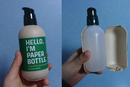 韓国のコスメブランド、環境に優しい紙ボトルの中からプラボトルが出てきて非難轟々