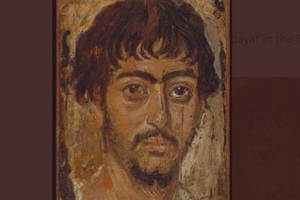 ツイッターに投稿された古代の肖像画、「阿部寛」に似ているとコメント殺到
