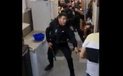 イスラエルの警察官がパレスチナ人の家に乱入、住民を暴行して連行【動画】