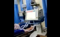 医者が逃げたインドの病院、鍵のかかったコロナ患者のICUに入ってみると死体が【動画】