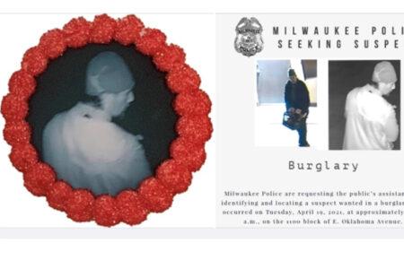 泥棒に入られたベーカリー、犯人の顔をシュガークッキーにプリントした捜査が成功