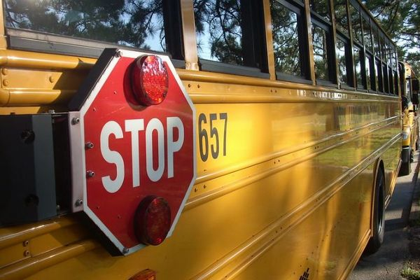 スクールバスのハイジャック犯、子供からの質問攻めにうんざりして全員を解放