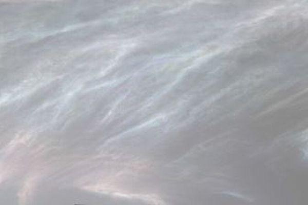 火星の上空に虹色の雲が出現、「キュリオシティ」が撮影に成功