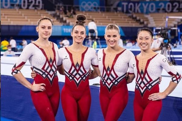今度はオリンピックで! ドイツ体操女子、ユニタードで出場し性的な視線に抗議