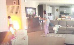 自宅でホバーボードが爆発、部屋が煙に包まれ、炎が上がる【動画】