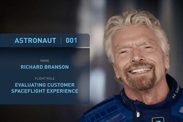 ヴァージン・グループ会長リチャード・ブランソン氏が、アマゾンのベゾス氏より先に宇宙へ