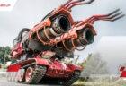 ジェット噴射で火を消す、最強の消防車「Big Wind」が凄い