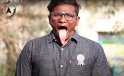 長すぎる舌は10.8cm、ギネス申請したいけどお金がない