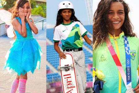 【東京五輪】スケボー女子13才銀メダリスト、ライッサ・レアルの7才時の練習動画が浮上