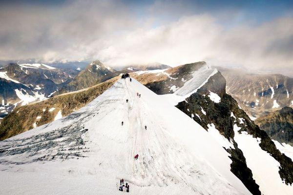 気候変動の影響?スウェーデンの山が、昨年に比べて2mも低くなる