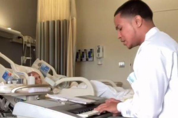 """元ギャングで現医療従事者の男性が歌う、""""患者を癒す歌""""の動画が話題に"""