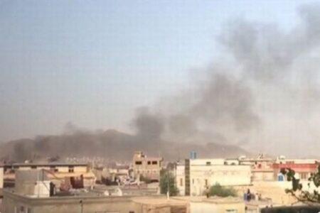 カブールの空港に5発のロケット弾、米軍はミサイル防衛システムで対処
