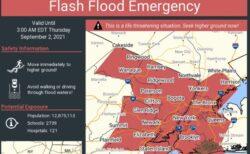記録的な大雨でNYCが非常事態宣言!SNSに投稿された動画が衝撃的