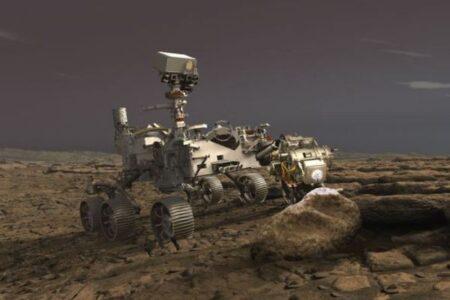NASAの「パーサヴィアランス」が火星のサンプルの採取に成功か
