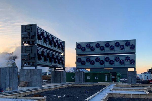 世界最大の二酸化炭素除去装置が稼動開始:アイスランド