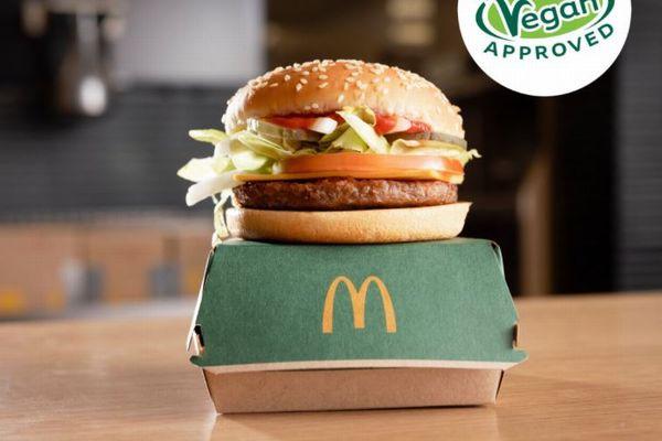 マクドナルドがビーガン用バーガー「マックプラント」を販売開始へ、英などの一部店舗で今月から
