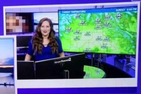 米テレビ局で放送事故、天気予報の最中、エッチ動画が映し出されてしまう