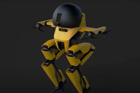 2足歩行でドローンのように飛べるロボット、綱渡りにも成功:カリフォルニア工科大