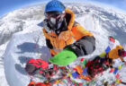 ありそうでなかった、エベレストから下界を見下ろす動画に鳥肌